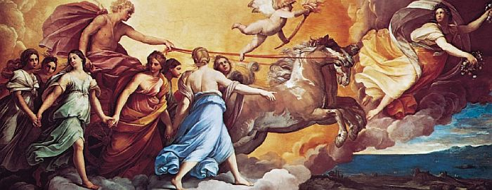 Apollon et Aurore, Guido Reni